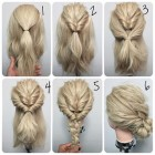 Easy updos for medium thick hair