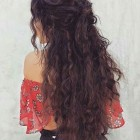 Easy updos long curly hair
