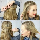 Everyday hairstyles for thick hair