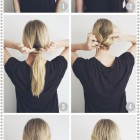 Everyday simple hairstyles