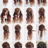 Hair updo long hair