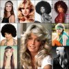 Hairstyles 70s disco era