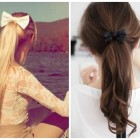Hairstyles a bow