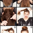 Hairstyles at home
