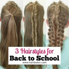 Hairstyles back to school