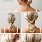 Hairstyles in 5 minutes