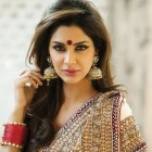 Hairstyles in saree