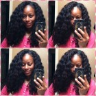 Hairstyles on blown out natural hair