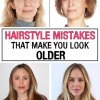 Hairstyles to make you look older