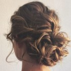 Hairstyles updos for medium length hair