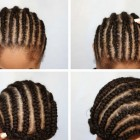 Hairstyles using braiding hair