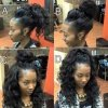 Hairstyles you can get with the vixen sew-in
