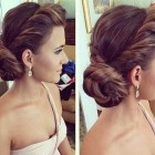 Long hair updo styles