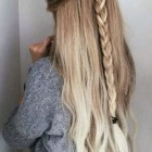 Long simple hairstyles
