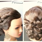 Medium long hair updos