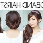 Quick easy everyday hairstyles