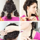 Quick updos for thick hair