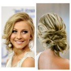 Side updos for long hair