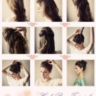 Simple daily hairstyles for medium hair