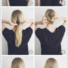 Simple everyday hairdos