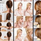 Simple hair designs for long hair