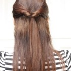 Simple hairstyle for daily use