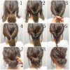 Simple long hair updos