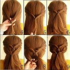 Simple stylish hairstyles for long hair