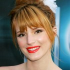 Up hairstyles with bangs