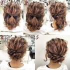 Updo hairstyles short hair