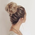 Updo long hair