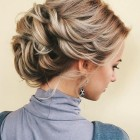 Updos for long thin hair
