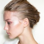 Upstyles for thick hair