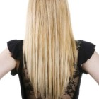 V hairstyles from the back
