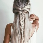 Braided hair long