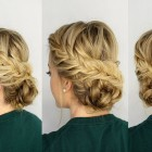 Cute braided updos