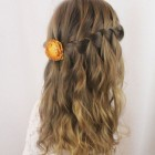 Cute updos for little girl