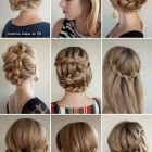 Different hair style braids
