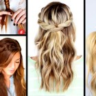 Easy braids for hair