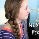 Easy cute braided hairstyles