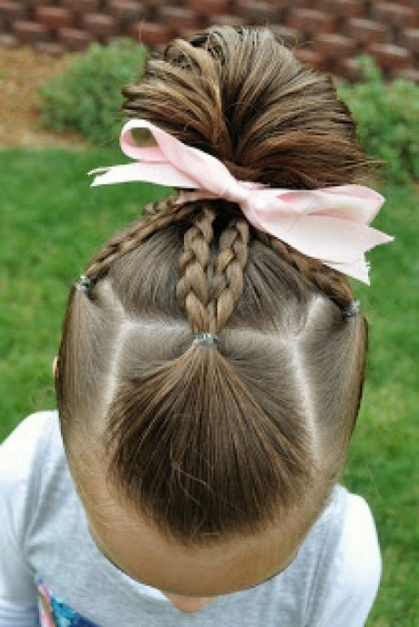Easy hairstyles for little girls to do