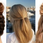 Easy home hairstyles