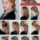 Easy to do hairstyles for medium hair at home
