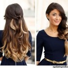 Girls simple hairstyle