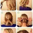 Hair designs for medium length hair