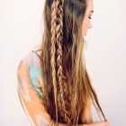 Hair plaits for long hair