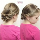 Hair style for kids girl