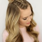 Hair style with