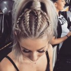 Hair with braids styles