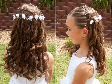 Hairstyle for little girl long hair